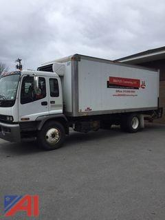 **Reserved Lowered** 2008 GMC T7500 20' Box Truck