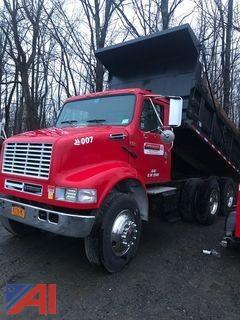 **Reserve Lowered** 2001 International 8100 Dump Truck