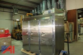 Traulsen 6 Door Freezer