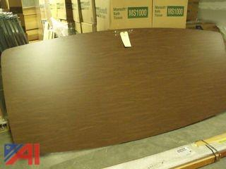 Oval Conference Table Top