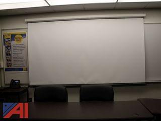 (24) Projector Screens