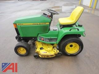 John Deere 425 Riding Lawn Mower