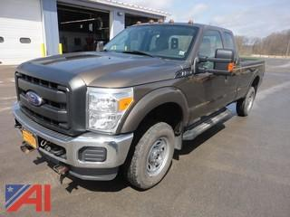 **5% BP** 2015 Ford F250 XL Super Duty Pickup Truck with Plow