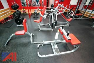 (7) Group Cybex Equipment/Plate Loaded/Benches