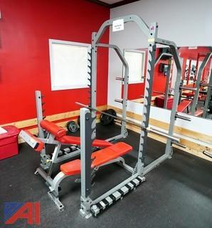 (4) Pc Body Solid ProClub Line Multi-Squat Rack Smith Machine