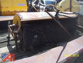 Trackless Sweeper Attachment