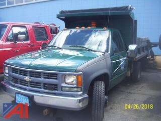 1999 Chevy 3500 Dump Truck