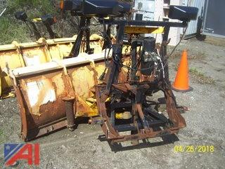 8' Fisher Minute Mount Plow