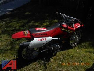 2002 Honda XR70R Motorcycle
