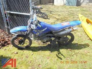 2004 Yamaha TTR125 Motorcycle