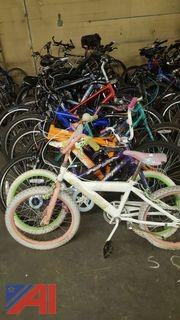(18) Assorted Bicycles