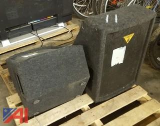 (2) Behringer Speakers