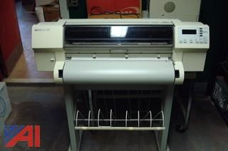 Hp Design Jet 750CPlus Wide Area Printer