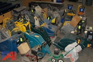 Large Lot of Custodial Equipment