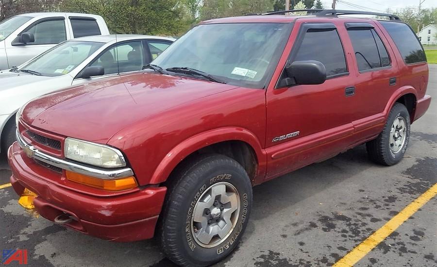 Seneca County DA Vehicle NY #14164