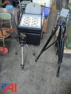 (2) Tripods for Cameras (#8)