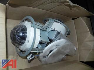 (2) Analog Video Cameras Ceiling Mounted & Siemens Controllers (#18)