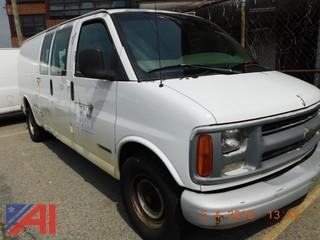 **Lot Updated** 2000 Chevrolet Express 3500 Van