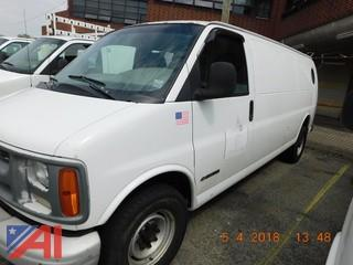 **Mileage Added** 2000 Chevy Express 3500 Van