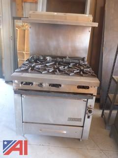 Garland Commercial Kitchen Stove