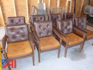 (8) Office Chairs