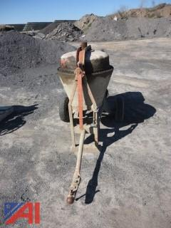 Cement Mixer with Motor