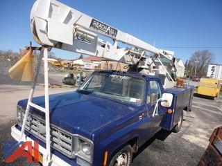 1978 Chevrolet Custom Deluxe Utility Lift Truck