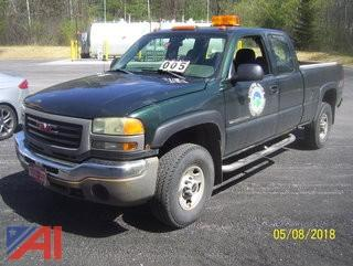 2005 GMC 2500HD Ext Cab Pickup