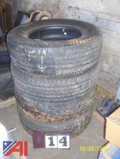 (4) Goodyear 265/70R18 Tires