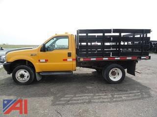 2002 Ford F550 Stake Rack Truck