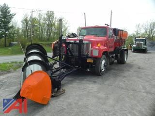 1998 International 2574 Truck w/ Plow, Wing & Sander