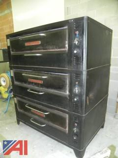 Blodgett 961 Natural Gas Triple Deck Oven