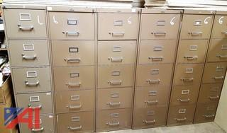 (11) Assorted Filing Cabinets