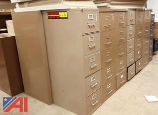 (7) Assorted Filing Cabinets