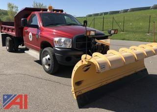 2010 Dodge Ram 3500 Pickup w/ Dump & Plow