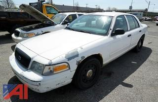 2007 Ford Crown Victoria 4 Door Police Interceptor/P773S