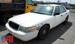 2007 Ford Crown Victoria 4 Door Police Interceptor/P772S