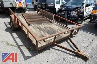 1999 Big Tex 12' Equipment Trailer/CD33