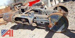 (2) Vintage Steam Pistons