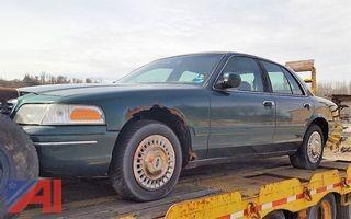 2000 Ford Crown Victoria 4 Door/Police Interceptor