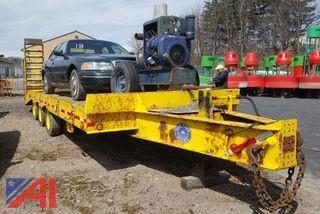 2000 Custom 30 Ton Tri-Axle Trailer