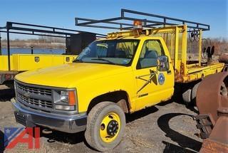 1997 Chevrolet Cheyenne 3500 Flat Bed/Pickup Truck