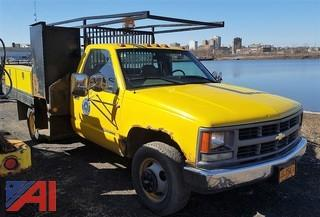 1999 Chevrolet C3500 Flat Bed/Pickup Truck