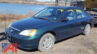 2002 Honda Civic 4DSD