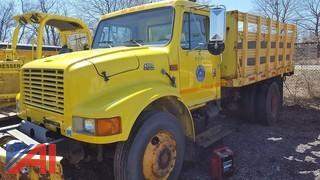 1999 International 4700 Stake Rack Truck