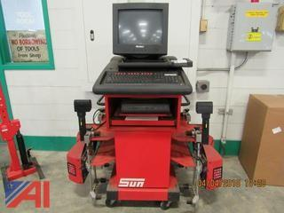 Sun Wheel Alignment Machine