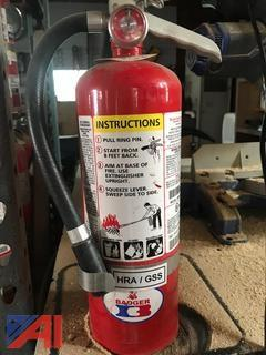 (20) Fire Extinguishers
