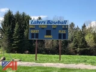 2004 Daktronics Baseball/Softball Scoreboard