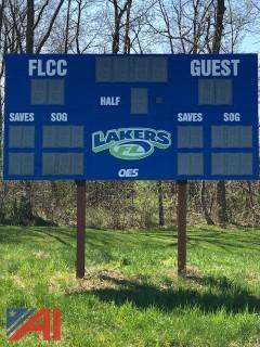 OES LED Soccer/Lacrosse Scoreboard