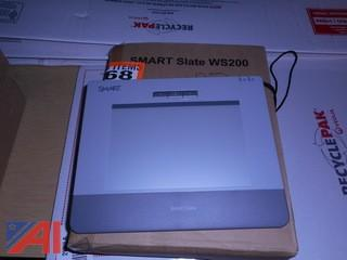 (25) Smart Slates WS 200 and (17) Laptop Sleeves